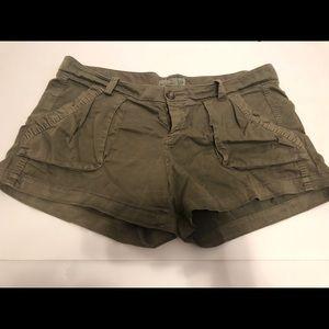 Olive green Cargo Shorts